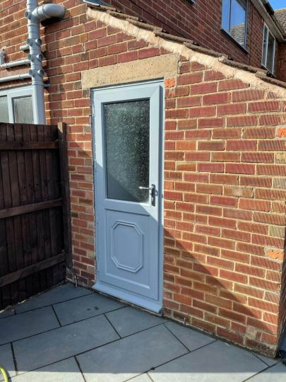 UPVc Spray Lincoln - After 7