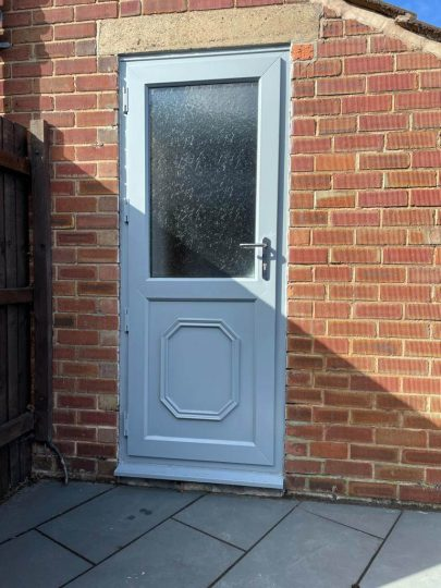 UPVc Spray Lincoln - After 8